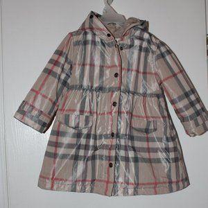 American Widgeon Girl 4T Striped Snow Jacket Coat